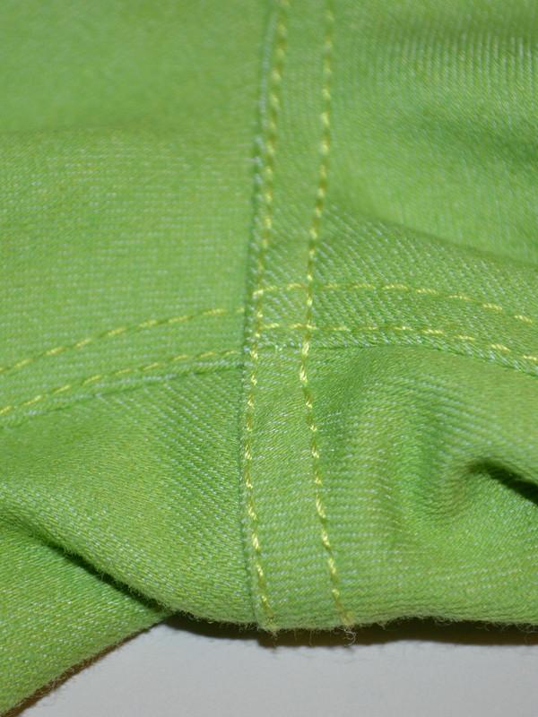 Джинсовая радуга - Салатовые