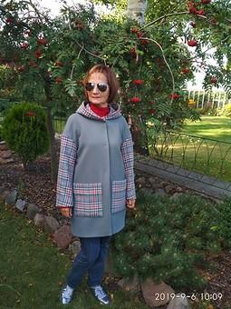 Работа с названием День осеннего равноденствия, Рябиновое настроение, Пальто для осени