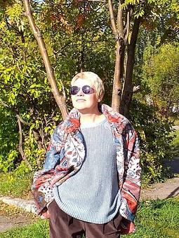 Работа с названием День осеннего равноденствия. Прогулка с Галиной.