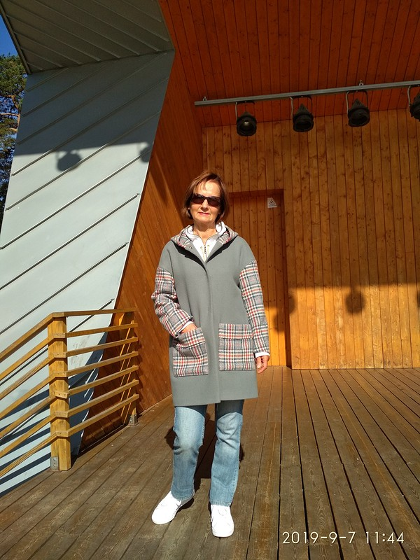 День осеннего равноденствия, Рябиновое настроение, Пальто дляосени от Mirakk