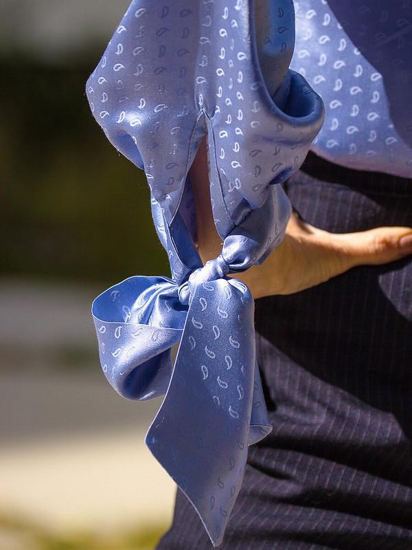 День осеннего равноденствия. Блузка изшелка от marn