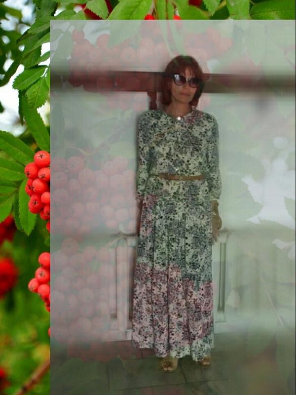 День осеннего равноденствия. Прогулка вдлинном платье.