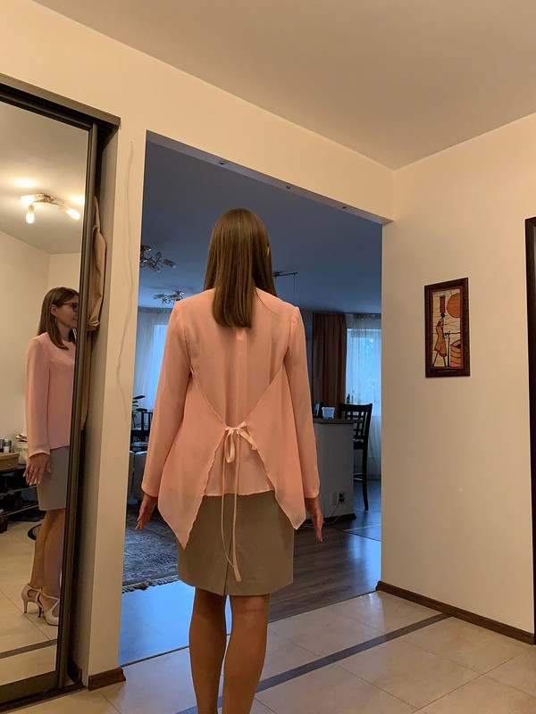 Очаровательная блузочка