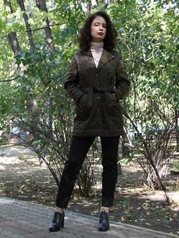 Работа с названием Стеганая куртка
