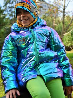 Работа с названием Осенние грезы - куртка хамелеон