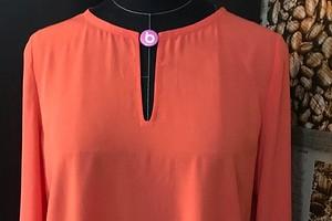 Яркая осень: как сшить блузку по выкройке пуловера