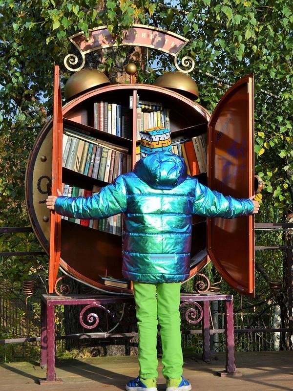 Осенние грезы - куртка хамелеон