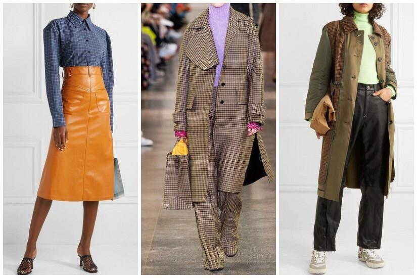 Клетка плюс: самые модные сочетания ссамым модным рисунком сезона