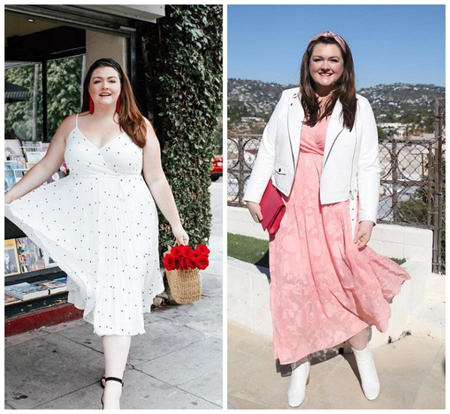 Швейный стилист Анна Шенберг: лучшие платья длядевушек plus size