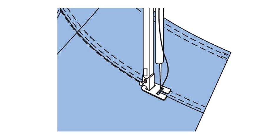 Простые детали: как выполнить кокетку юбки