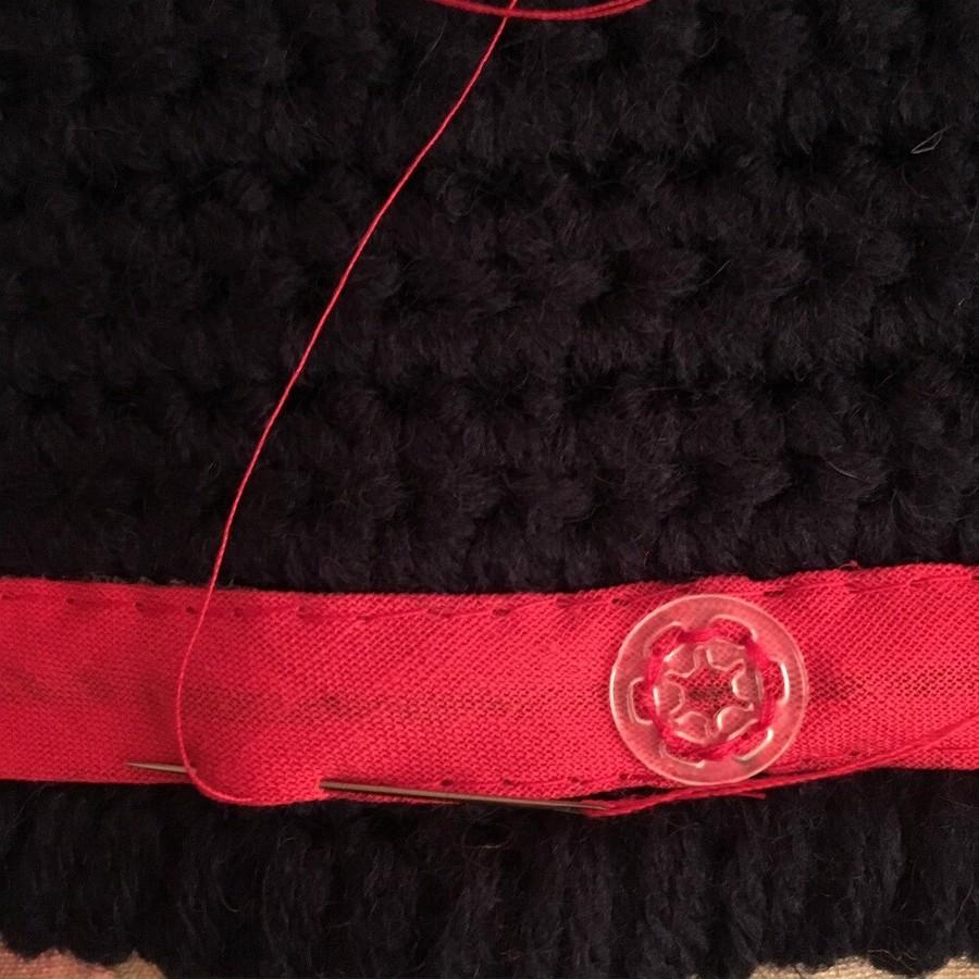Идея: подкладка накнопках длявязаного одеяла или пледа