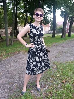 Работа с названием Платье-фартук