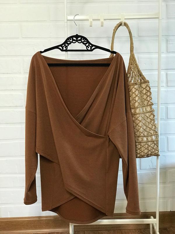 Пуловер Сахарный миндаль от Zahna
