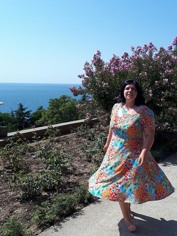 «Невесомое» платье