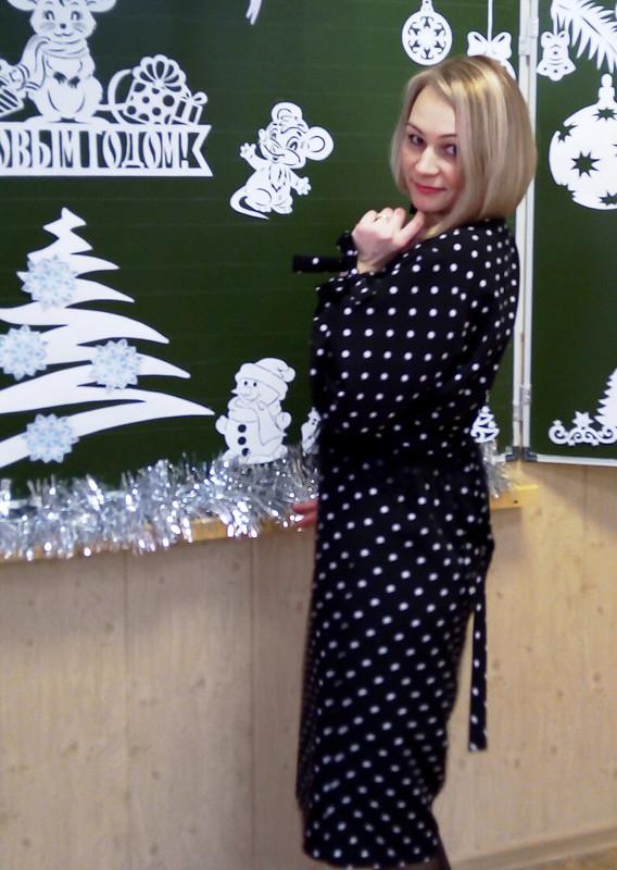 Платье «Новогодний горох-2020»