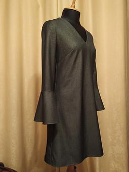 Работа с названием Джинсовые платье