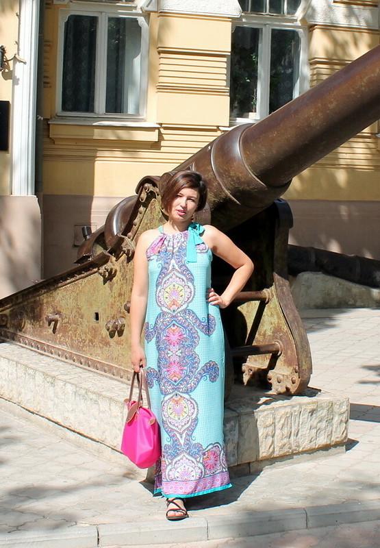 Отпускные штапельные платьица