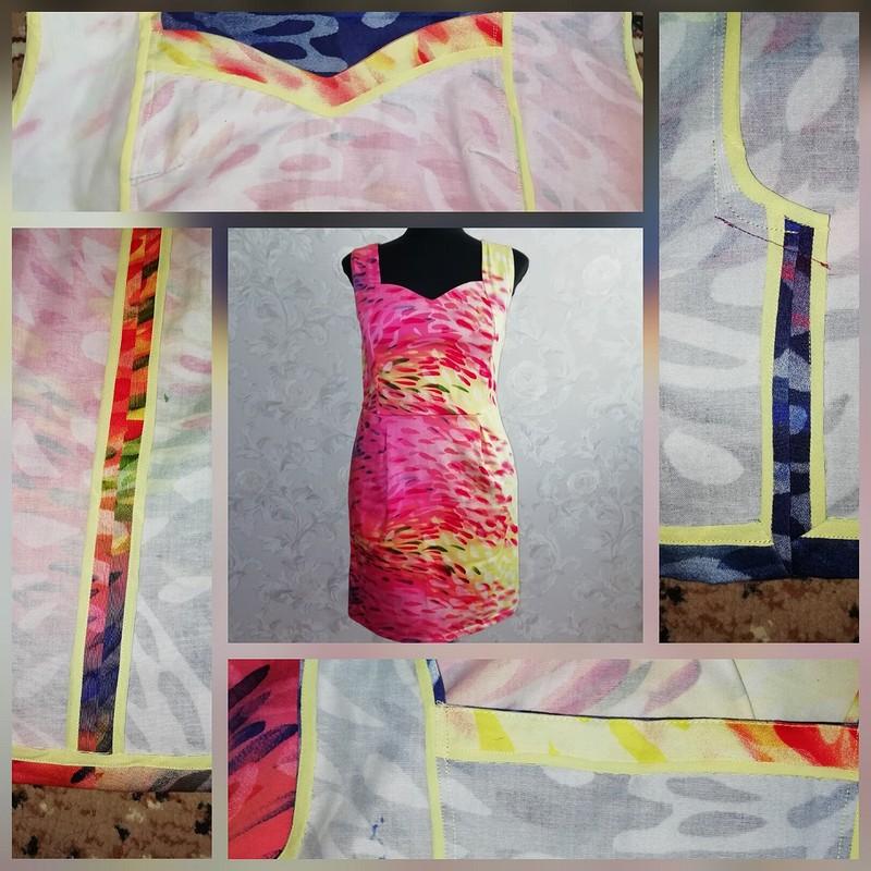 Платье «Краски»