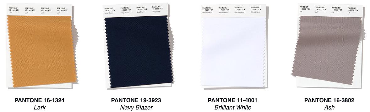 16 оттенков весны-2020 поверсии Pantone