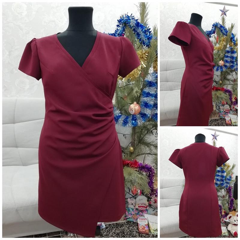 Платье «Бордо»
