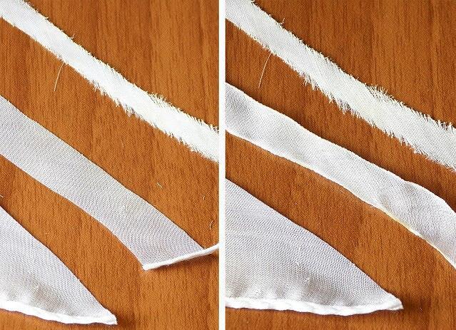 Как сделать ипокрасить ленты длявышивки