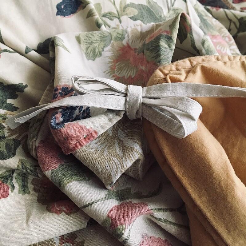 Идея: завязки науголках одеяла