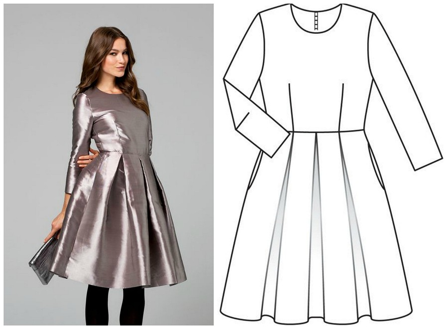 5 платьев изстарых номеров Burda, которые стоит сшить сейчас