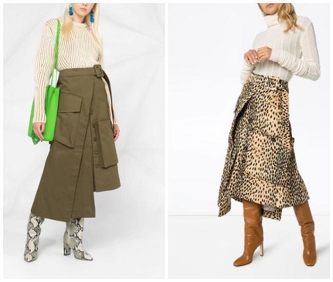 Модная деталь: накладные карманы