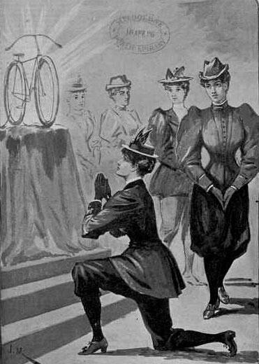 Что такое блумерсы, или поворотный момент вистории женских брюк