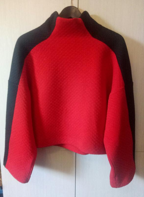 Пуловер «Красное иЧёрное» от jekibru