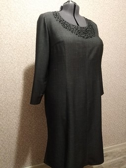 Работа с названием Платье с бусинками