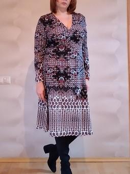 Работа с названием Трикотажное платье из остатков