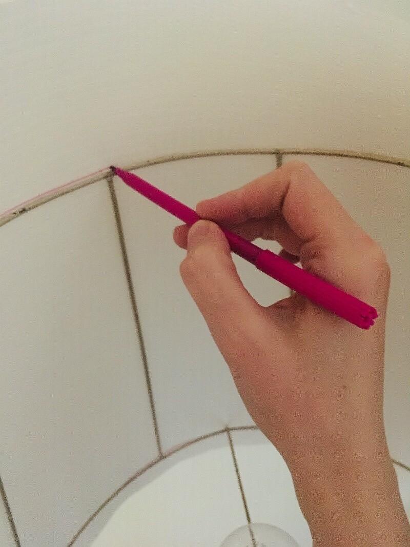 Как сшить простой абажур дляторшера: мастер-класс