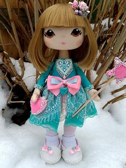 Работа с названием Кукла текстильная портретная