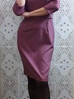 Работа с названием Платье-футляр для офиса № 2