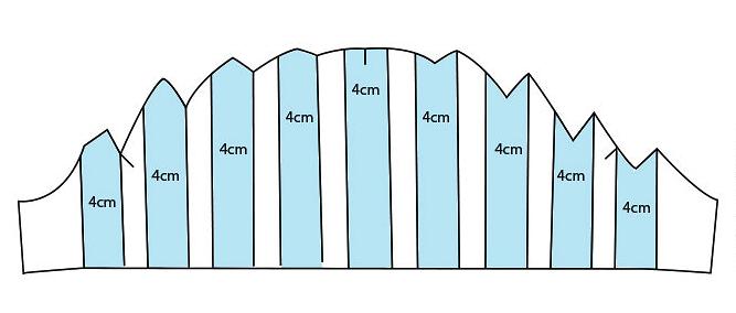 Моделируем рукав-крылышко со складками