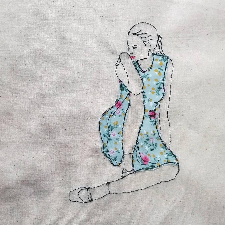 Память орадости, запечатлённая наткани: рукодельный instagram недели