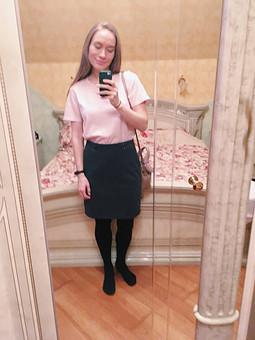 Работа с названием Классическая юбка