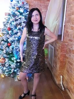 Работа с названием Маленькое  блестящее платье