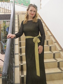 Работа с названием Новогоднее платье - русалка
