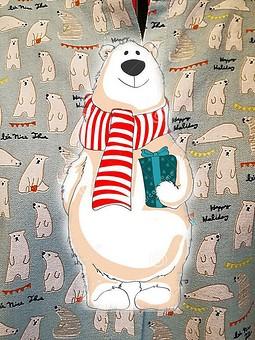 Работа с названием Спят мои соседи, белые медведи:-))