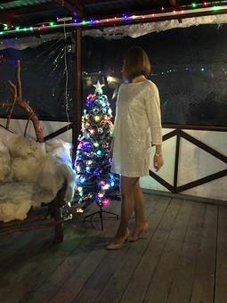 Работа с названием Рождество на ФФ с Майей Третьяковой. Платье для Яны