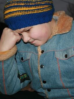 Работа с названием Курточка для сына