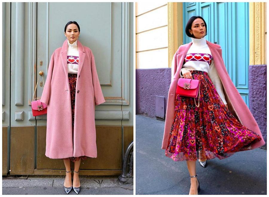 5 зимних образов отмодного Instagram-блогера Дилетты Аменты