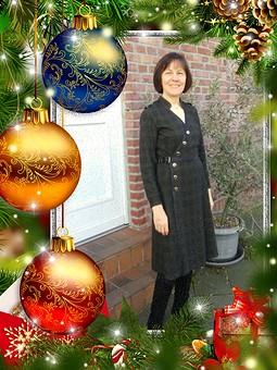 Работа с названием Рождество на ФФ с Еленой.