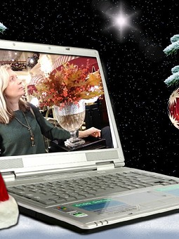 Работа с названием Рождество на ФФ с tschayka. Жакет с воланами