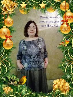 Работа с названием Рождество на ФФ с Натальей Clarte