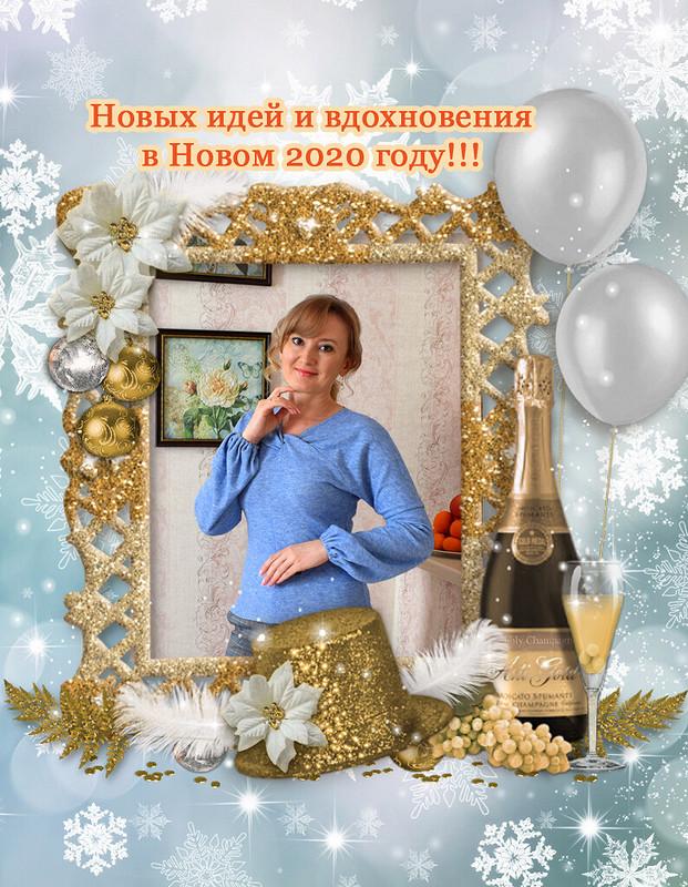 Рождество наФФ сФлёлли. Пуловер итуника от Ольга Флёлли