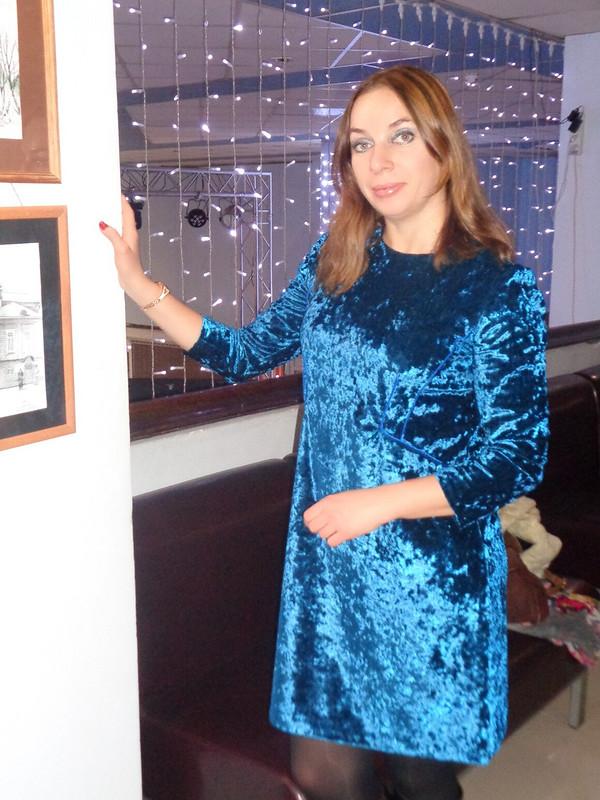 Рождество наФФ сfrb113lenta. Бархатное платье