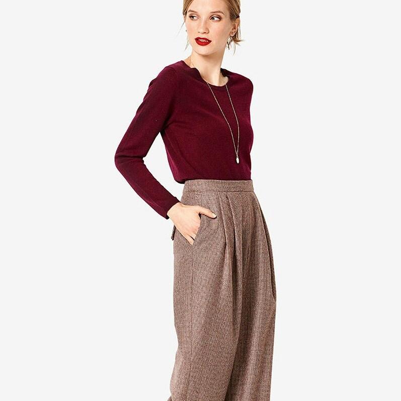 Базовые брюки назиму: 20 выкроек